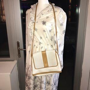 Authentic Vintage Fendi Brown Striped Bag